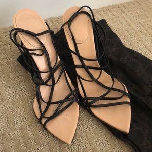 Gucci strappy heels